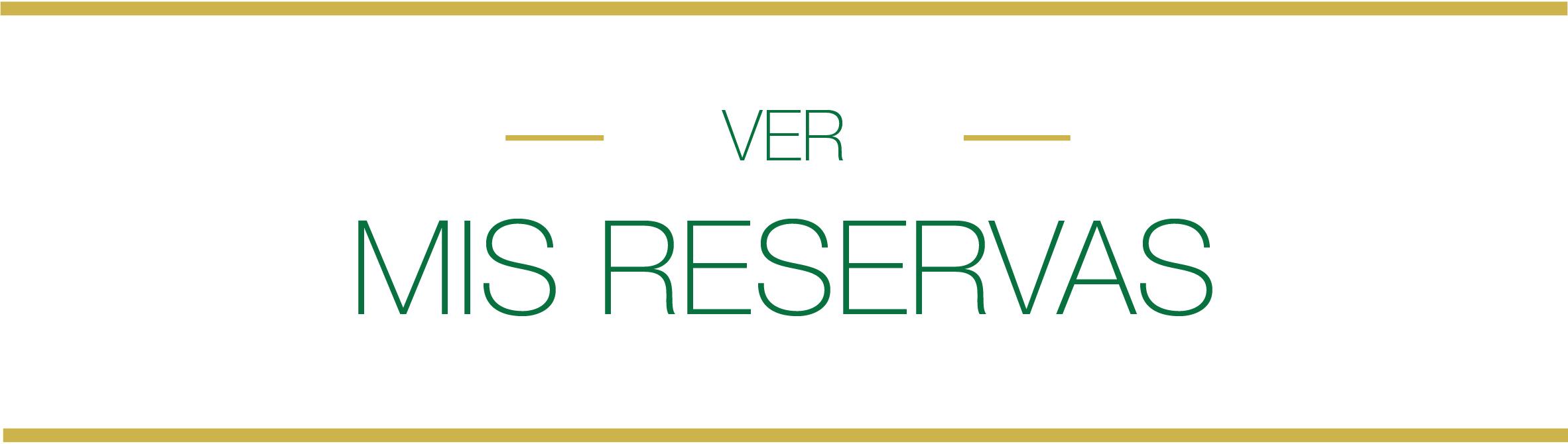 mis reservas